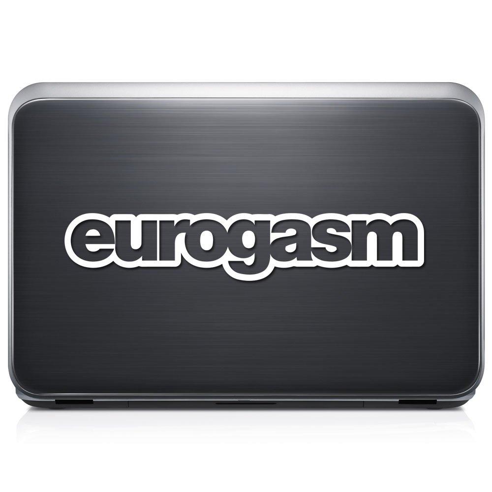 EuroGasmユーロドイツ取り外し可能なビニールデカールステッカーforラップトップタブレットWindows壁装飾車トラックオートバイヘルメット (12 in/30 cm) Wide RSEU117-12MWH (12 in / 30 cm) Wide グロスホワイト B0768R2KRM