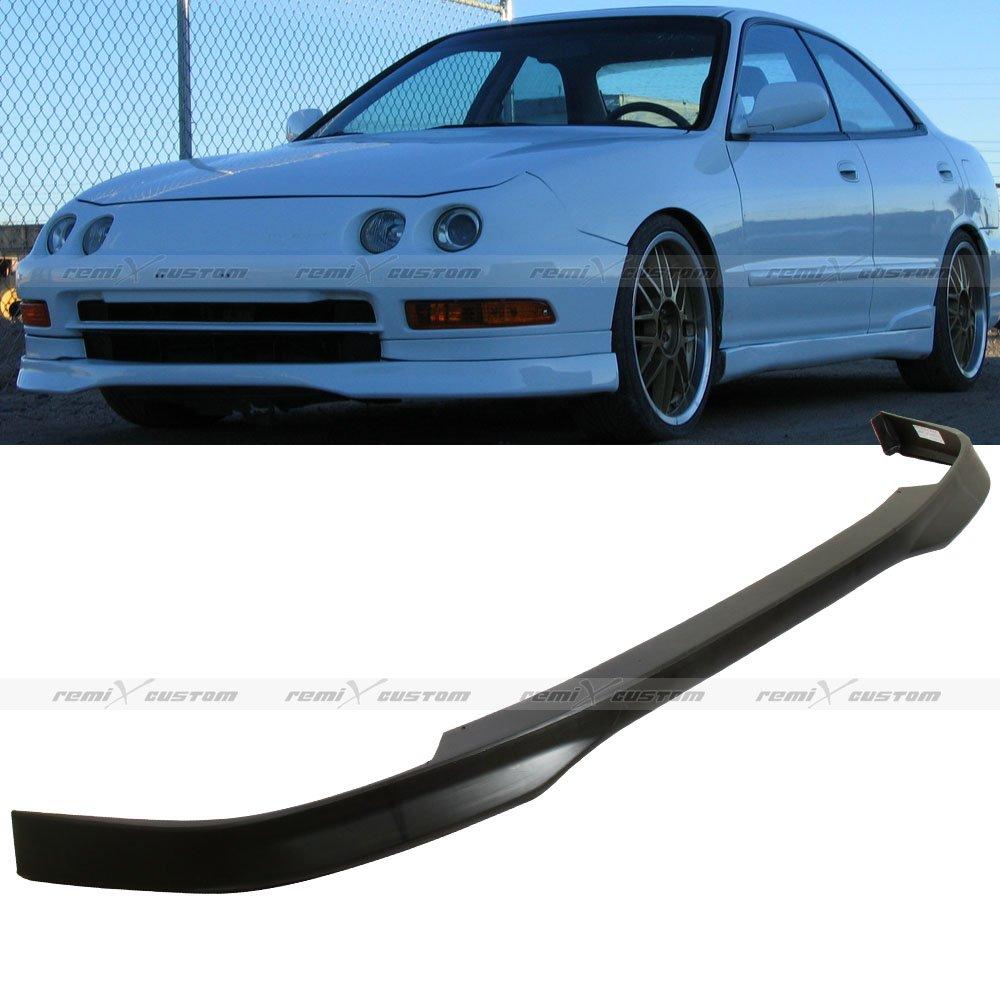1998 - 2001 Acura Integra Type-R Style PU Front Body Bumper Lip Spoiler Kit Front Lip 99 00 Remix Custom