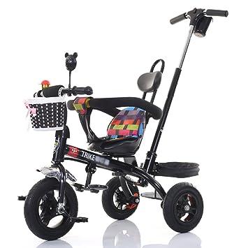 sheng El triciclo de los niños puede empujar el carro del bebé del pedal del bebé