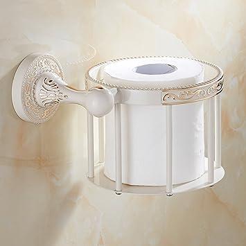 Bbdsj Tablette de papier de toilette pour salle de bains Étagères de ...