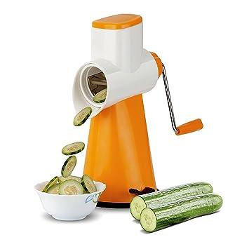 LMS Plastic Vegetable Swift Shredder, Slicer, Coarse Shader, Multicolor Graters & Slicers at amazon