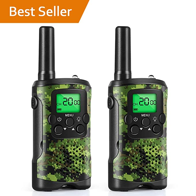 Amazon.com: Walkie Talkies for Kids, Toys for 3-12 Year Old Boys 22 ...