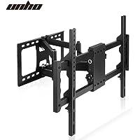 UNHO Full Motion TV Wall Mount Bracket with Cantilever Double Arm Tilt Swivel TV Bracket for 30 to 85 Inch LED LCD HD 4K…