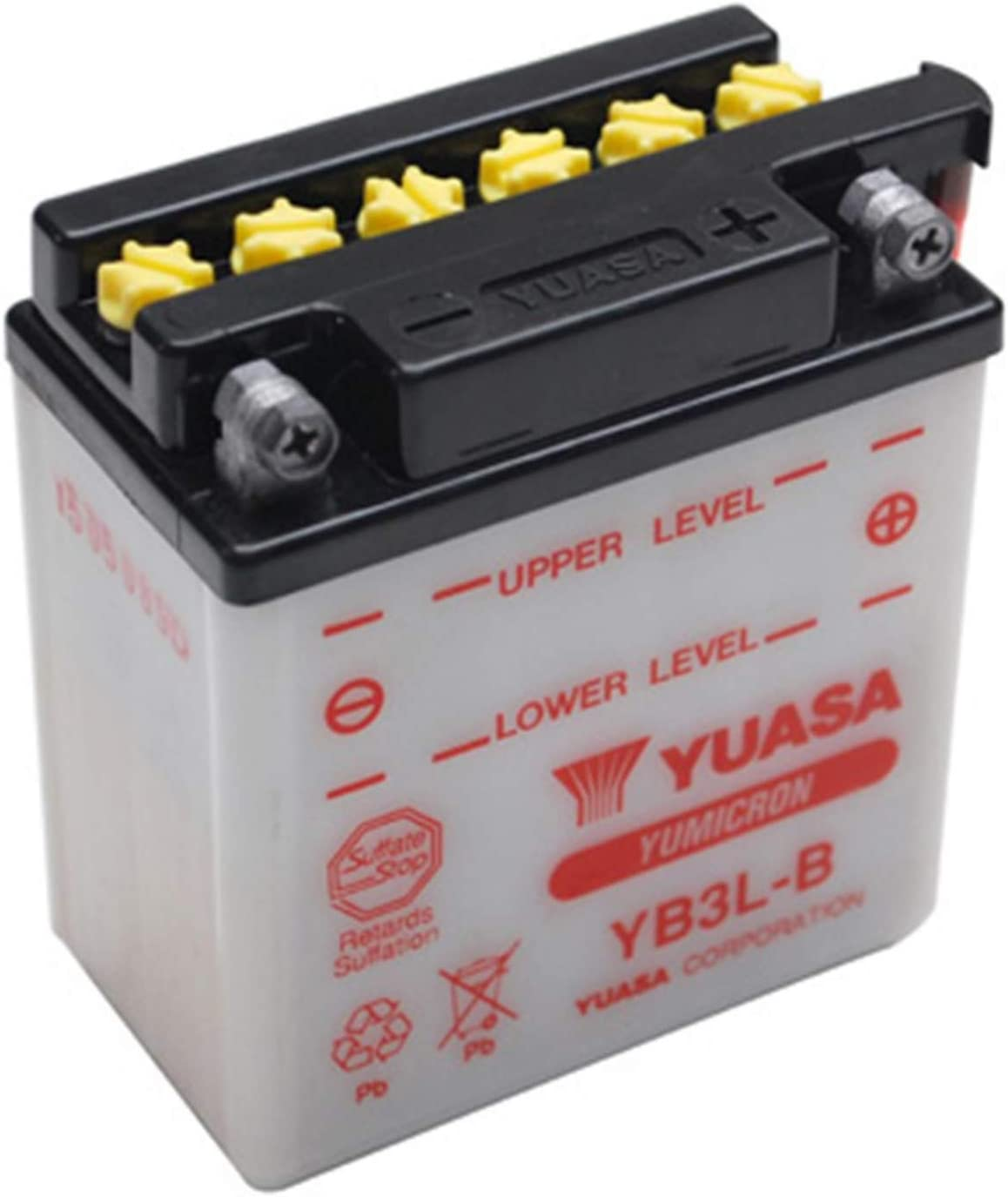 Yuasa Yb3l B Y Batterie Yb3l B Offen Ohne Saeure Auto