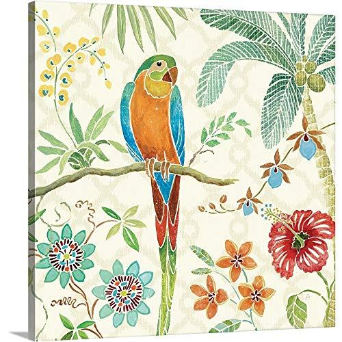 Daphne Brissonnet Premium Thick-Wrap Canvas Wall Art Print entitled Tropical Paradise IV 16