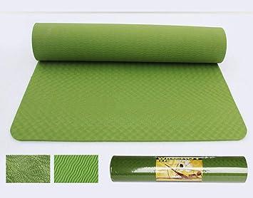 KEYINUO TPE Yoga Mat 6mm Fitness Mat Sports Mat Espesor ...