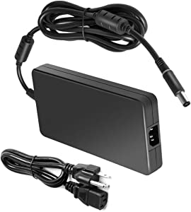 New 240W 19.5V 12.3A Adapter Charger for PA-9E DELL Alienware M17x R4 M18x X51 Precision M6400 M6500 M6600 M6800 FWCRC Y044M Y047M GA240PE1-00 0J938H J211H U896K by ETTECH