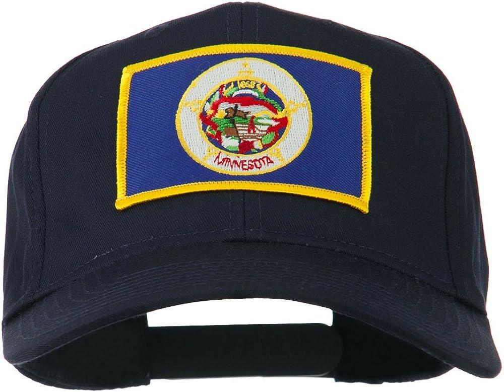 e4Hats.com Minnesota State High Profile Patch Cap