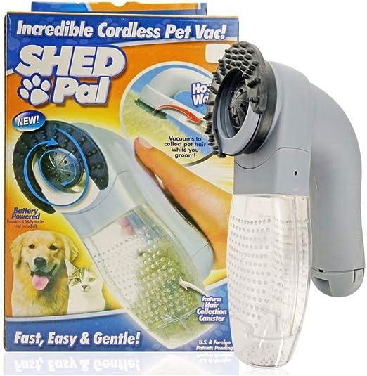 Depiladora eléctrica de Pelo de Gato para Perro y Mascotas, Cepillo para Remover para Mascotas, Descarga, aspiradora, cortacésped, 1 Unidad: Amazon.es: Productos para mascotas