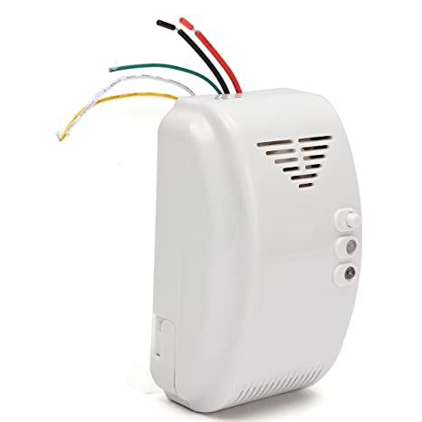12V Gas Detector Sensor Alarm Propane Butane LPG Natural Motor Home Camper - Measurement & Analysis