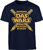Kids Geschenk für Schulanfänger Einschulung - Das Wars Kleinkind Kinder T-Shirt - Gr. 86-116