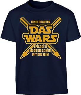 Coole Fun T Shirts Jungen T Shirt Kindergarten Das Wars Amazon De