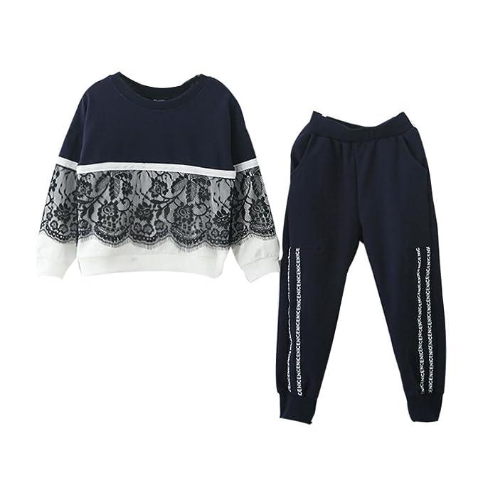 Amazon.com: Conjunto de ropa para niñas de 3 a 7 años de ...