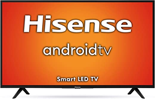 Hisense 108 cm (43 inches) Full HD Smart Certified Android LED TV 43A56E (Black) (2020 Model)