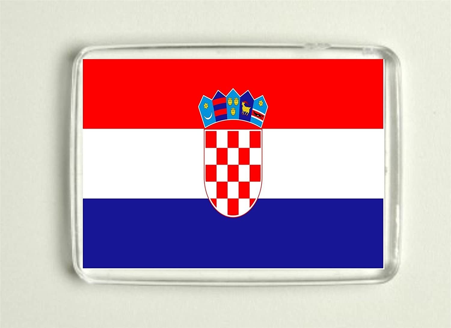 European Championships 2016 Fridge Magnet - Croatian Flag Cannon Collectables