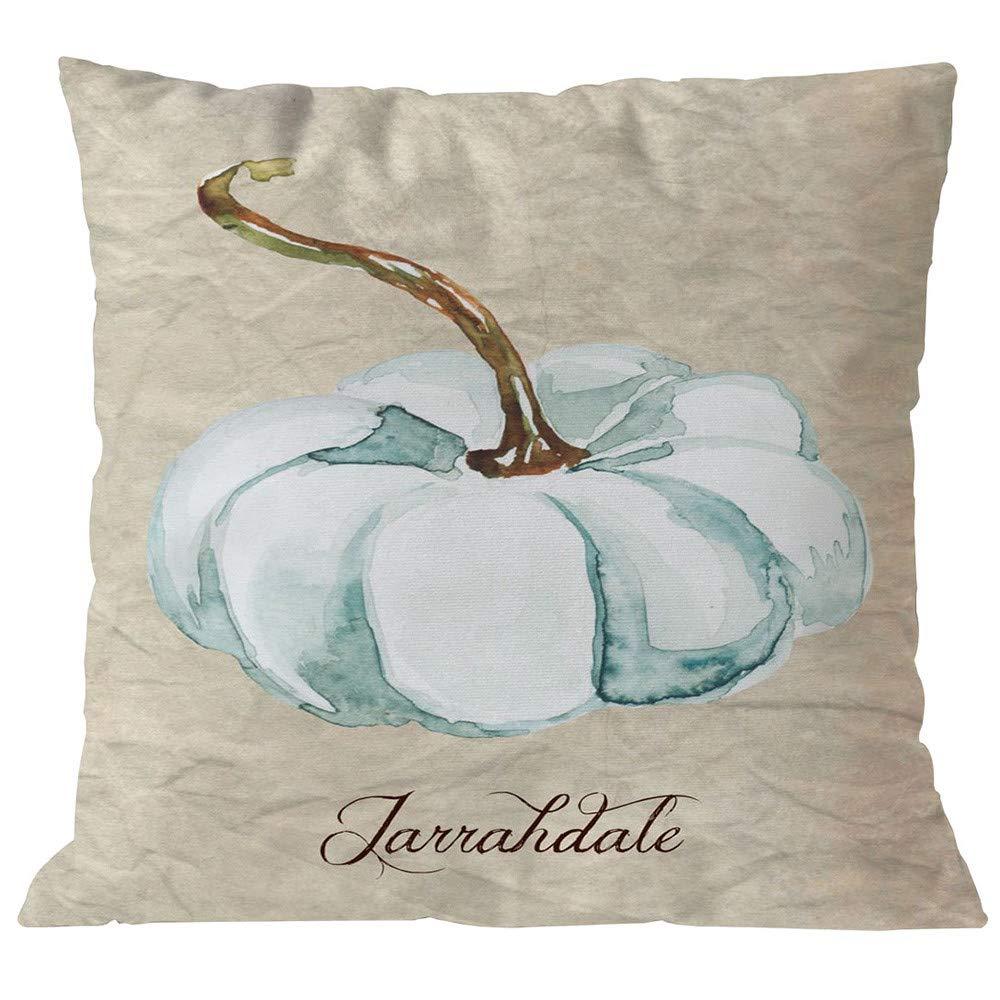 NUWFOR Halloween Pillows Cover Decor Pillow Case Sofa Waist Throw Cushion Cover(H)