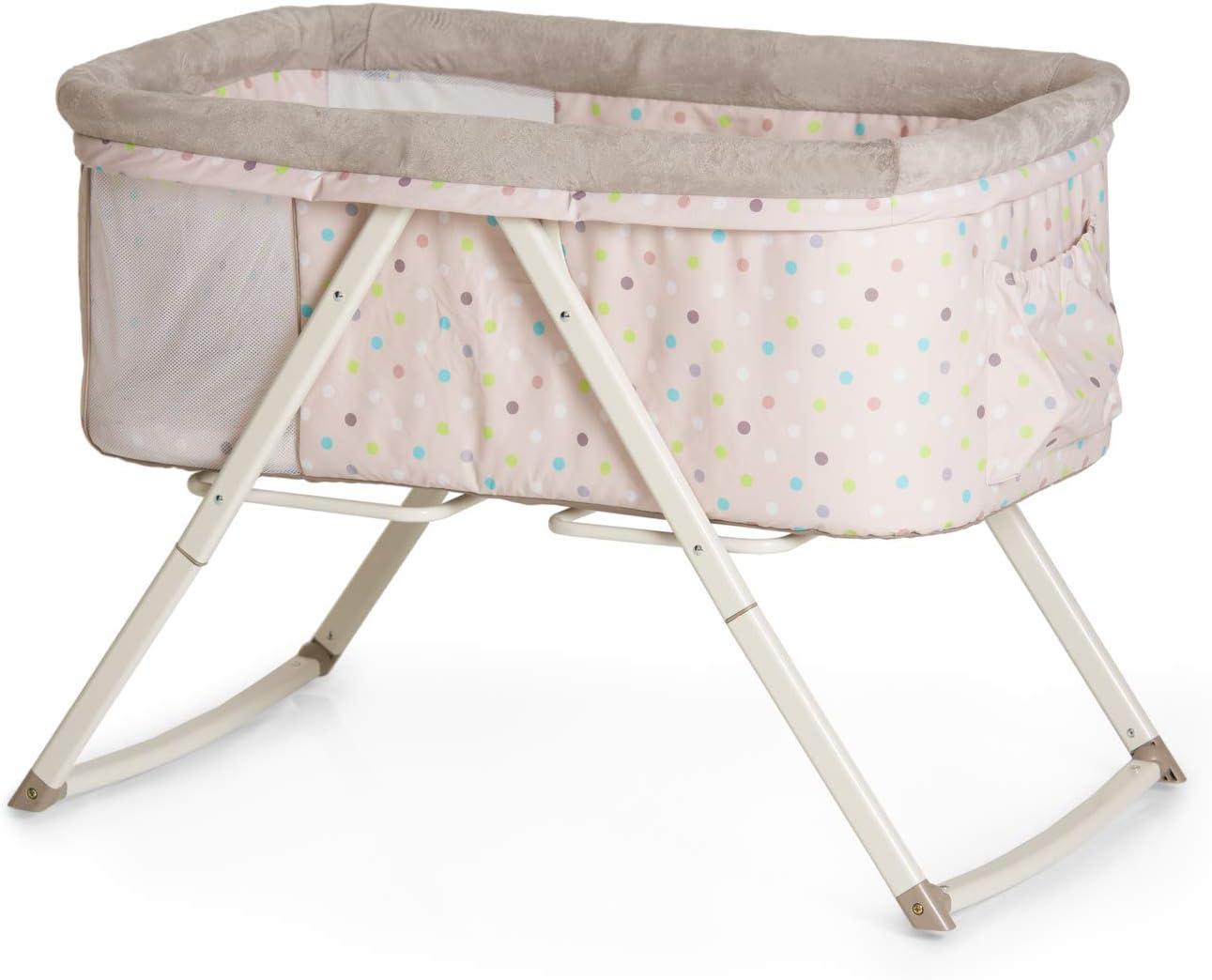 Hauck Dreamer, Moses Basket, Bedside Cot for Babies
