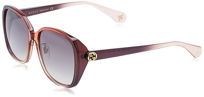 Gucci GG0371SK-003 Gafas de sol, Rojo/Violeta/Transparente ...