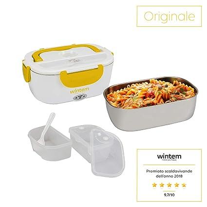 Lunchy Box Molde térmica eléctrica Bolsa térmica para sopas acero inoxidable-Wintem