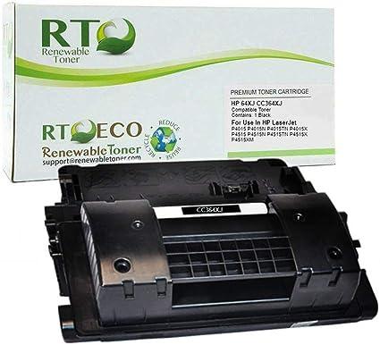10 pack CC364X Toner Cartridge Fits Laserjet P4515n P4515tn P4515x Printer