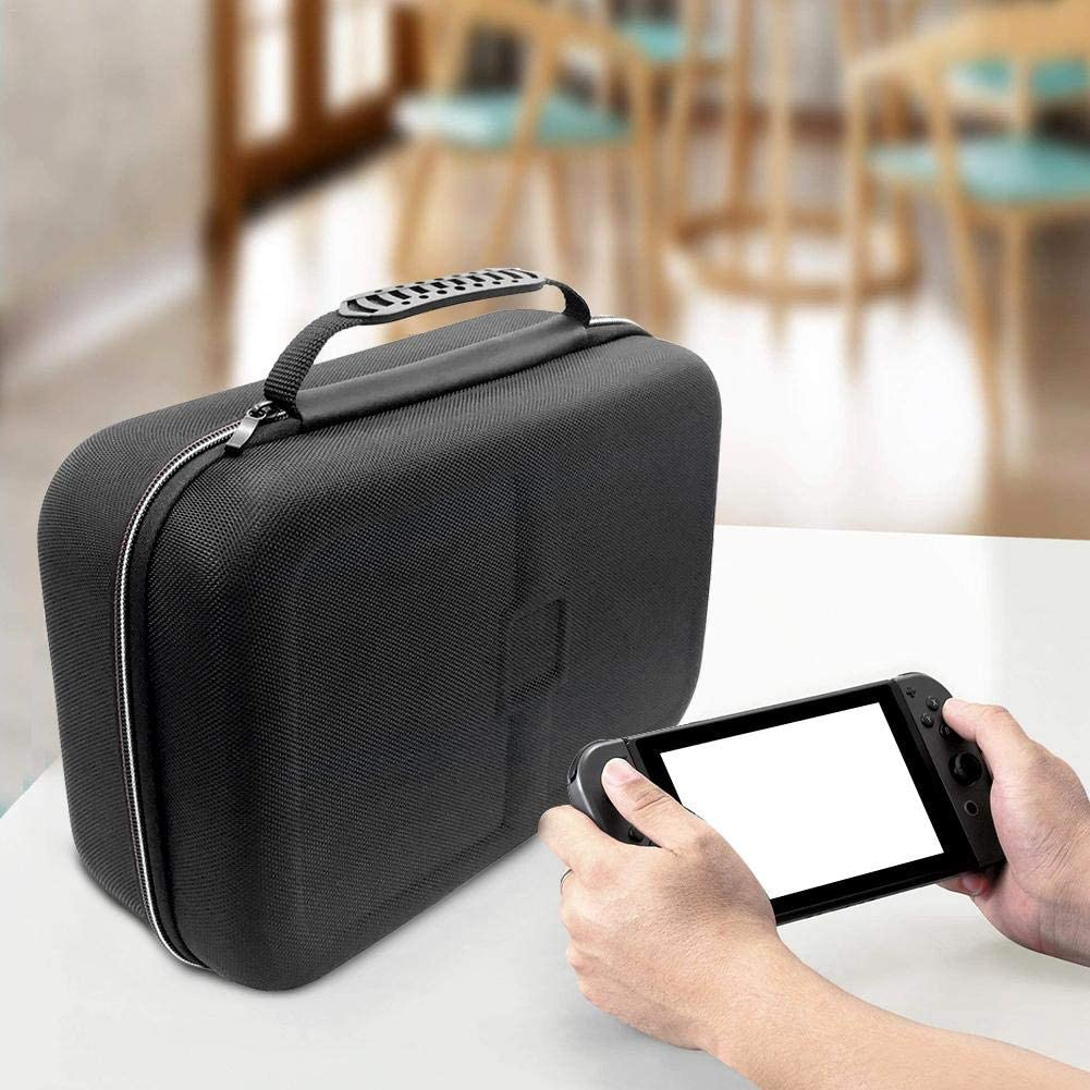 ORANGELD Case for Switch,Deluxe EVA Big Capacity Gamepad Accessories,Switch Console,HDMI Cable,Travel and Storage Protection Box