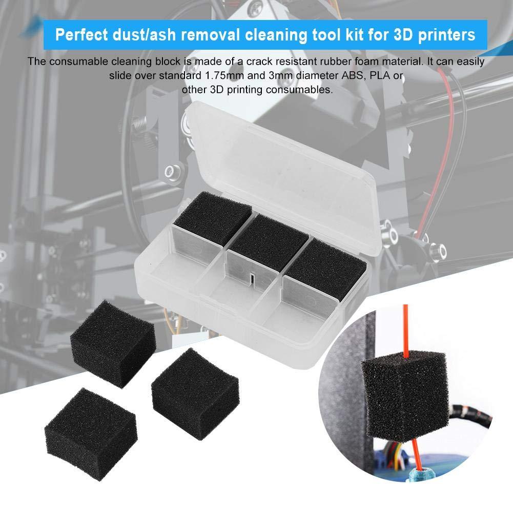 Wendry Kit de Limpieza de Impresora 3D, Bloques limpiadores ...