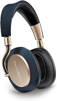 Bowers & Wilkins PX - Auriculares inalámbricos con cancelación de ruido y Bluetooth, cerrado supraural, color Dorado (Soft Gold): Amazon.es: Electrónica