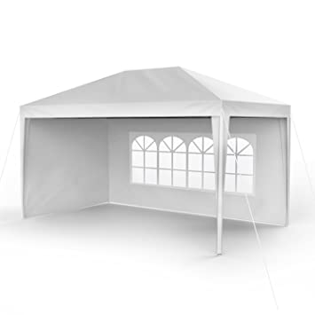 Sekey 3x4 m para el jardín, Impermeable, Pabellçon/Pabellón de jardín/Ajustable