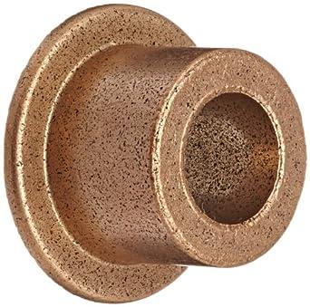 "Bronze Bushing 1//2/"" X 3//8/"" with flange Lot of 12 pcs"