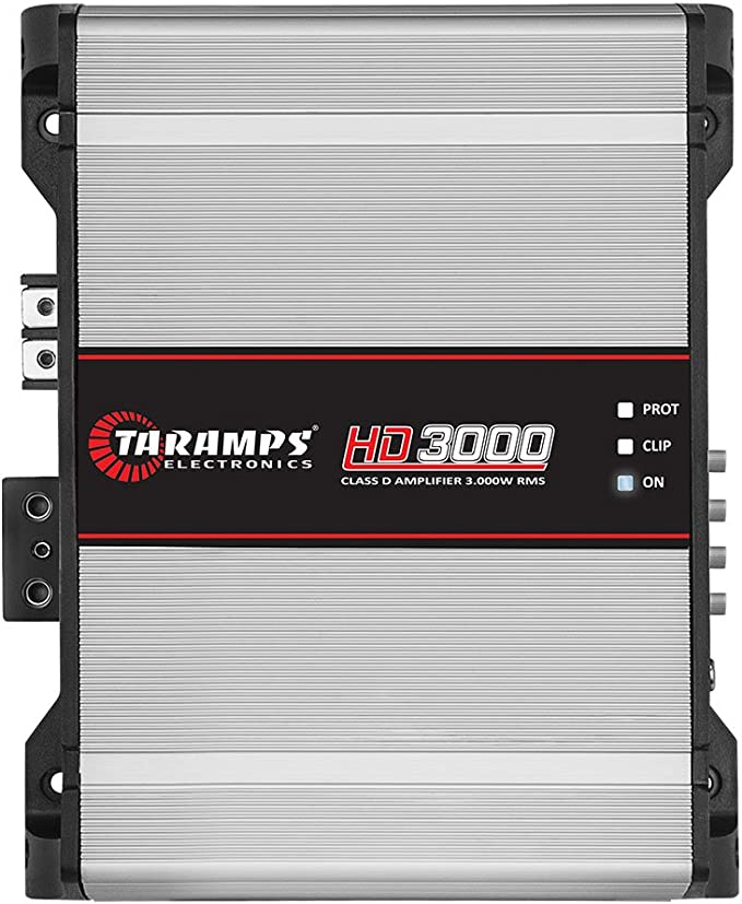 Taramps HD 3000 2 Ohms Class D Full Range Mono Amplifier Free shipping for 3 day