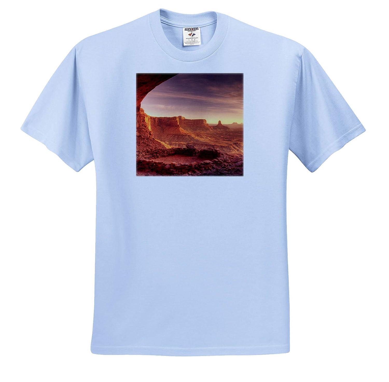 Canyonlands NP 3dRose Danita Delimont Utah USA Utah ts/_315078 False Kiva Island in The Sky Adult T-Shirt XL