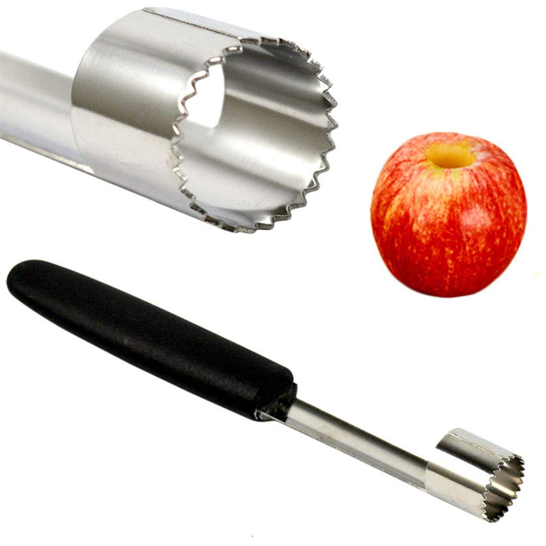 1 Pcs Inoxydable Facile en Acier Twist Fruits Core Graine Remover Apple Corer Semoir Cuisine Gadgets Outils
