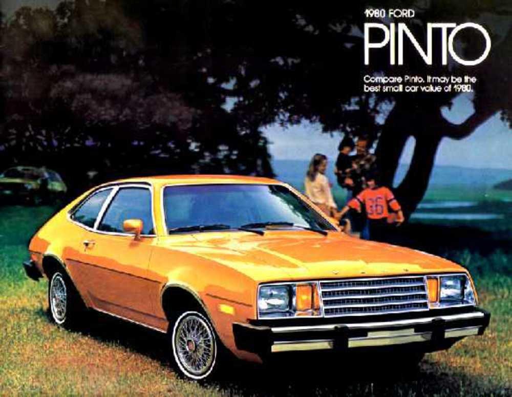 Amazon Com 1980 Ford Pinto Sales Brochure Literature Book Piece