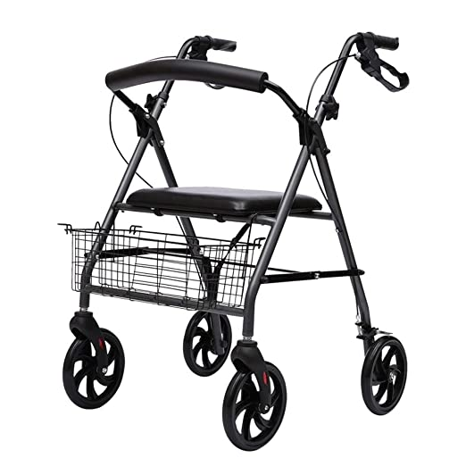 Bastidor para caminar, carrito de compras para ancianos ...