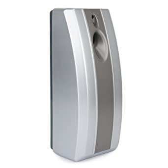 Automatic Air Freshener - Day/Night Sensor - Commercial Bathroom Toilet -  Silver