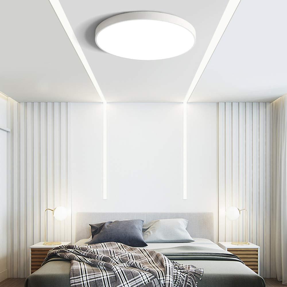 CARYS LED Deckenleuchte Dimmbar mit Fernbedienung Deckenlampe Rund Metall Lampenschirm 48W 60cm f/ür Wohnzimmer Flur Esszimmer K/üche Kinder Kinderzimmer Schlafzimmer Schwarz Deckenbeleuchtung