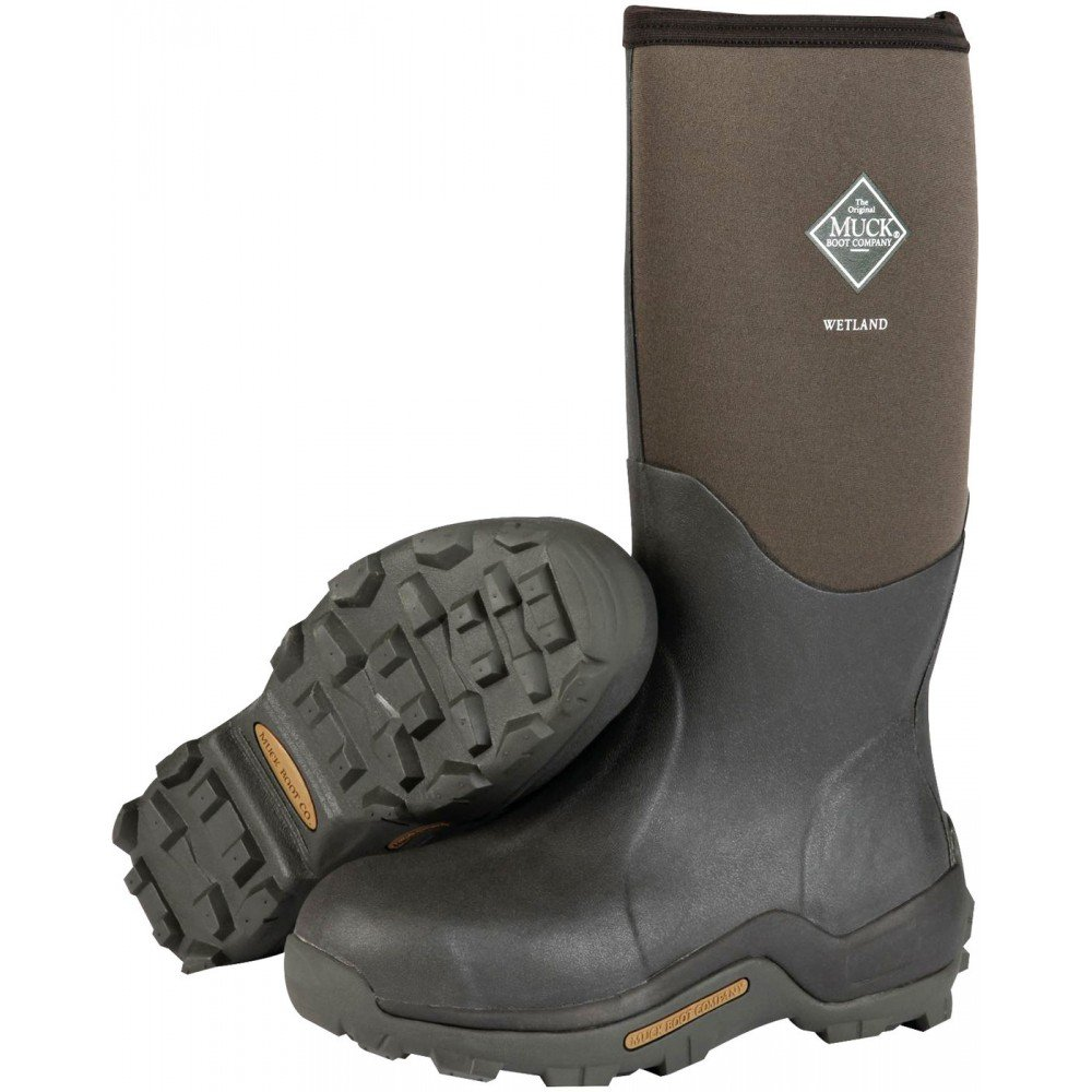 Muck Boots Mens Wetland Premium Hunting WP Winter 11 Brown WET-998K