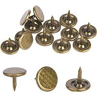 100 stuks bekleding kopspijkers, platte kop punaise assortiment kit meubels nagels ijzer kunst benodigdheden accessoires…