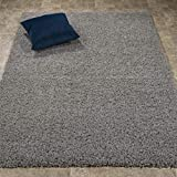 """Ottomanson Collection Solid Shag Rug, 7'10"""" x"""