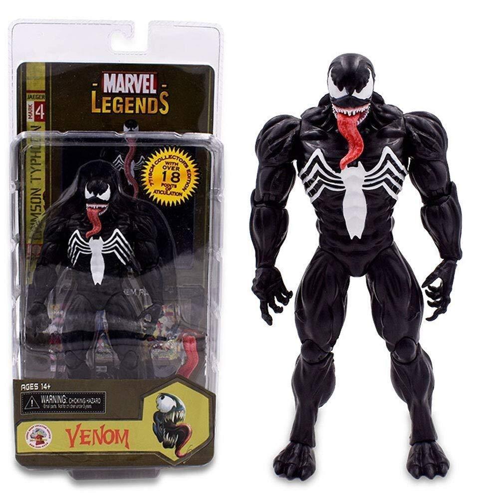 MODELSS Marvel Spider-Man Hero Returns Venom Gwen 7 Pulgadas Puede Hacer muñecas Modelo