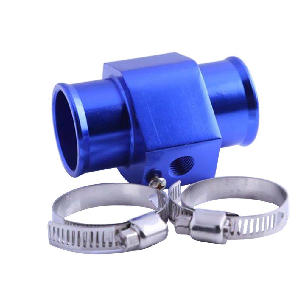 Gazechimp 28 MM Wassertemperatursensor Adapter K/ühlerschlauch 1//8 NPT Temp Manometer