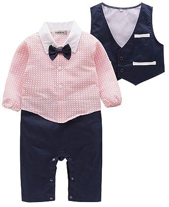08c78341a4fc Amazon.com  stylesilove Baby Boy 2-Piece Tuxedo Suit