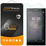 [2-Pack] Supershieldz for Sony Xperia L2 Tempered Glass Screen Protector, Anti-Scratch, Bubble Free, Lifetime Replacement Warranty