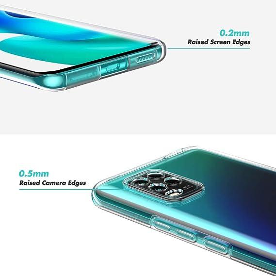Azul Funda para Xiaomi Mi 10 Lite 5G Magnetica Adsorption Carcasa 360 Grados Frente y Parte Posterior Cuerpo Completo Transparente Vidrio Templado Protecci/ón Metal Choque Cover Case
