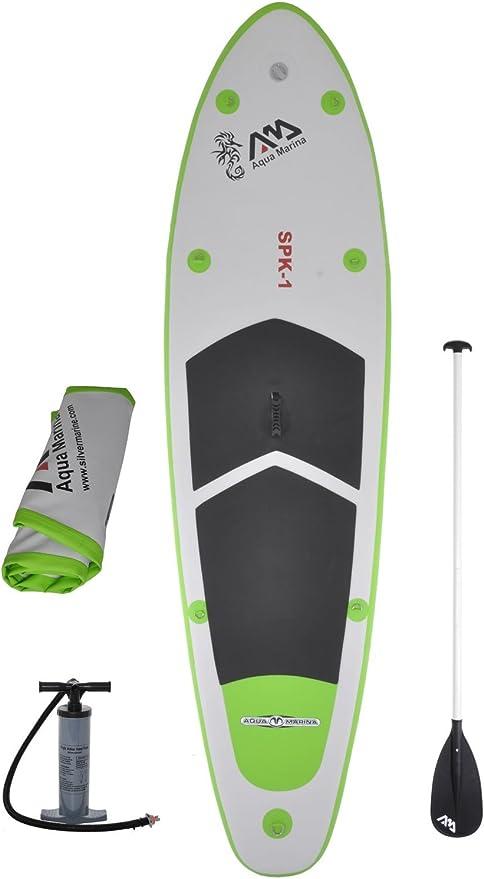 Amazon.com: Tabla de surf SUP, inflable con remo de 3 partes ...