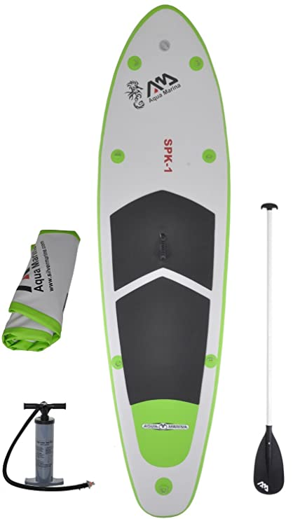 f1f117bca Amazon.com   Inflatable SUP Stand Up Paddle Board and 3PC w  Paddle ...
