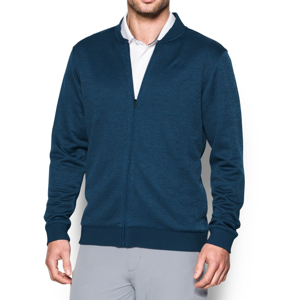 Under Armour Men's Storm SweaterFleece Full Zip, Academy/Academy, X-Large by Under Armour