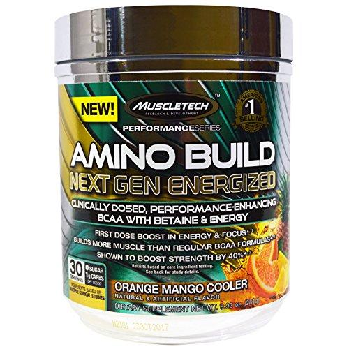 Muscletech Amino Energized Orange Cooler product image
