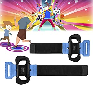 SUPERSUN 2 Piezas Correa para la Muñeca para Just Dance 2021 2020 2019 2018 (Edición para Nintendo Switch), Adjustable Brazalete Brassard para Nintendo Switch Dance Juego, Agarrar para Joy con