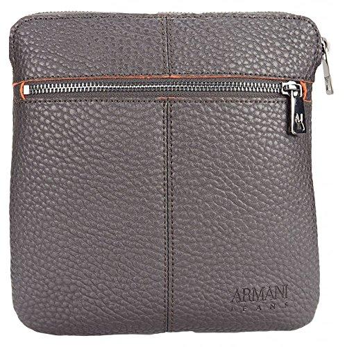Armani Exchange Men's Mini Pouch Bag, Dark - Armani Bag Brown